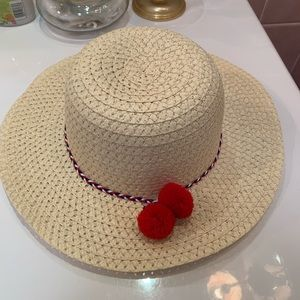 Accessories - 🌸 Havana Straw Sun Hat with Pom Poms and Rope